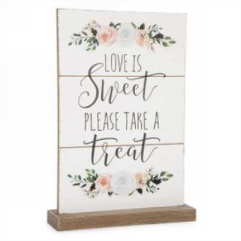 Picture of DECOR PLAQUE - LOVE IS SWEET
