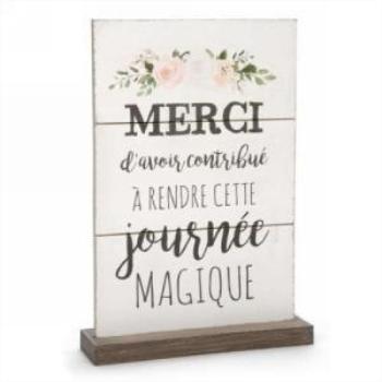 Picture of DECOR PLAQUE - JOURNEE MAGIQUE