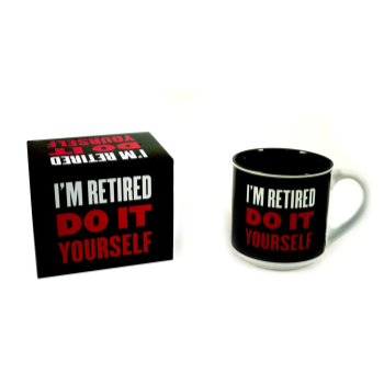 Picture of DECOR - RETIRED...DO IT YOURSELF MUG