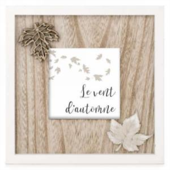 Picture of LE VENT D'AUTOMNE WALL PLAQUE
