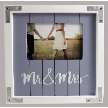 Picture of MR & MRS WOODEN FRAME  4x6