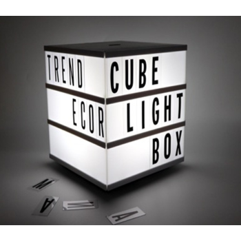 Picture of CUBE LIGHT BOX