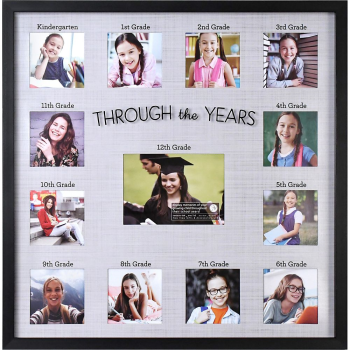Picture of DECOR - GRAD COLLAGE FRAME THROUGH THE YEARS