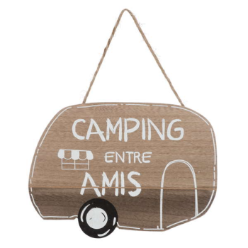 Picture of CAMPING ENTRE AMIS HANGING PLAQUE
