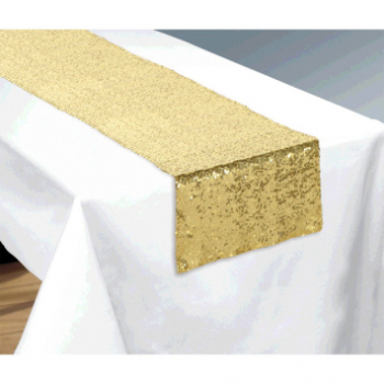 Image de GOLD SEQUIN TABLE RUNNER
