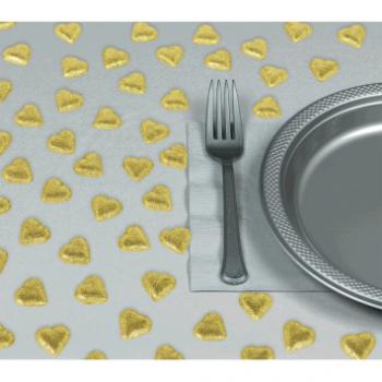 Picture of GOLD HEART TABLE CONFETTI