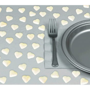 Picture of IRIDESCENT HEART TABLE CONFETTI