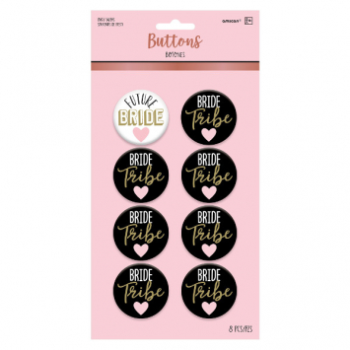 Picture of BRIDE TRIBE BUTTON SET