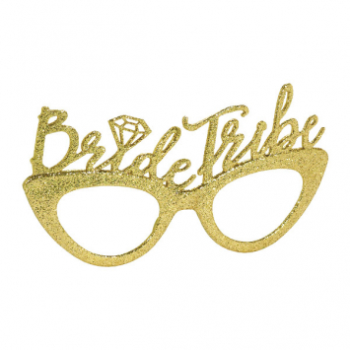 Picture of BRIDE TRIBE GOLD GLASSES PACK
