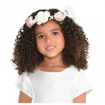 Picture of FLOWER GIRL HEAD WREATH