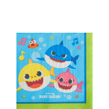Picture of BABY SHARK - BEVERAGE NAPKINS