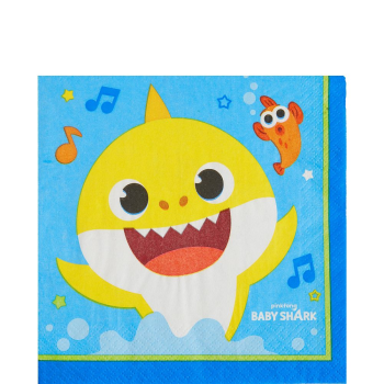 Picture of BABY SHARK - LUNCHEON NAPKINS