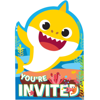 Picture of BABY SHARK - INVITATION