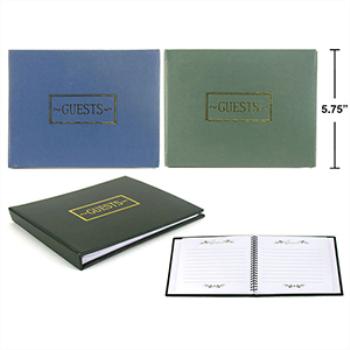 Image de GUEST BOOK - BLACK, BLUE OR GREEN