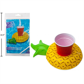 Picture of PINEAPPLE BEVERAGE HOLDER POOL FLOAT