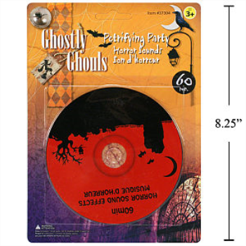 Picture of HALLOWEEN HORROR SOUND CD - 60MIN