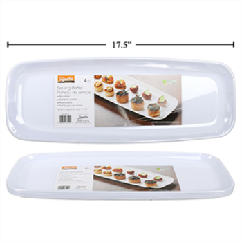 Image de REUSABLE PARTY PLATTER RECTANGLE