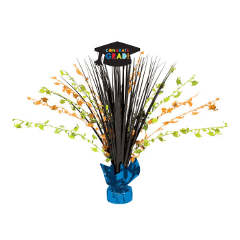 """Picture of DECOR - GRAD 18"""" SPRAY CENTER PIECE - CLASS OF AWESOME"""