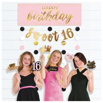Picture of 16th - SWEET 16TH BLUSH PHOTO BOOTH KIT