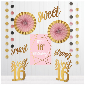Picture of 16th - SWEET 16TH ROOM DECORATING KIT