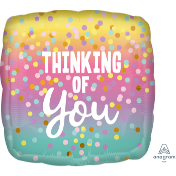 "Picture of 18"" FOIL - THINKING OF YOU"