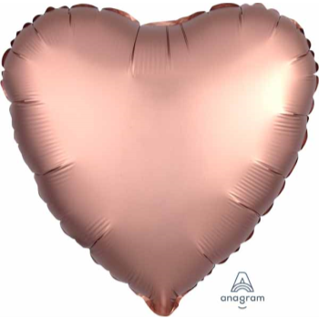 "Image de 18"" FOIL - LUXE ROSE COPPER HEART"