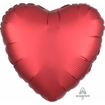 "Image de 18"" FOIL - LUXE RED HEART"