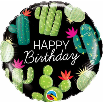 "Picture of 18"" FOIL - BIRTHDAY CACTUS"