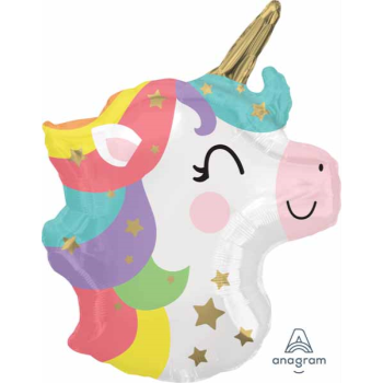 "Image de 18"" FOIL - BABY UNICORN JUNIOR SHAPE"
