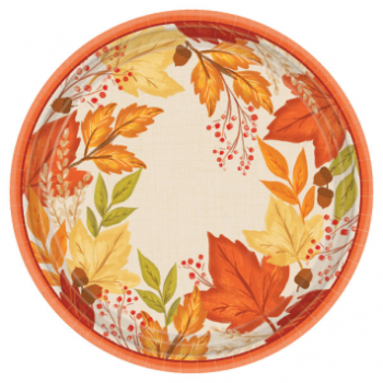 "Picture of FALL FOLIAGE 10"" PLATES"