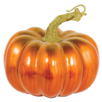 Picture of SMALL MATTE METALLIC PUMPKIN