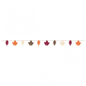 Picture of FALL LEAVES PAPER BANNER