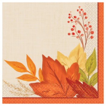 Picture of FALL FOLIAGE BEVERAGE NAPKINS