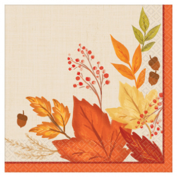 Picture of FALL FOLIAGE DINNER NAPKINS
