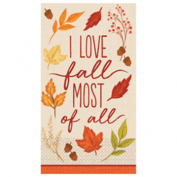 Picture of FALL FOLIAGE GUEST TOWEL