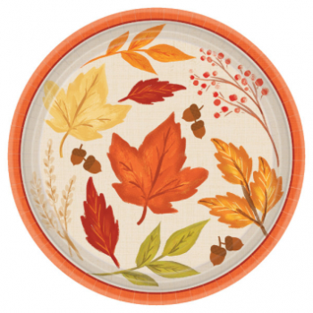 "Picture of FALL FOLIAGE 7"" PLATES"
