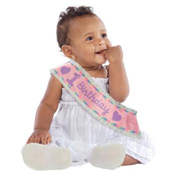 Image de WEARABLES - 1st BIRTHDAY SASH PINK