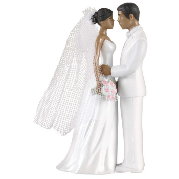 Picture of Cake Topper African American Couple