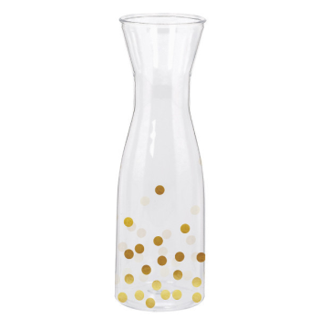 Picture of COCKTAIL - WINE CARAFE PLASTIC DOTS - HOT STAMPED