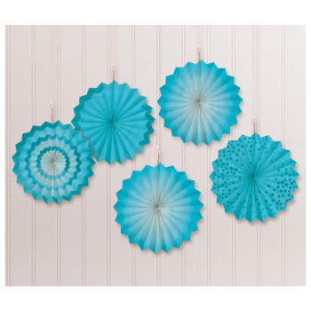 Picture of CARIBBEAN MINI HANGING FANS - HOT STAMPED