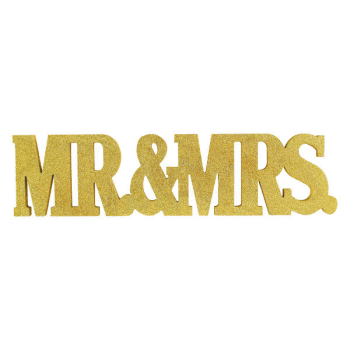 Image de Mr. & Mrs. Glitter Standing Decoration