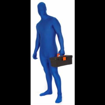 Picture of BLUE MORPHSUIT ADULT - MEDIUM