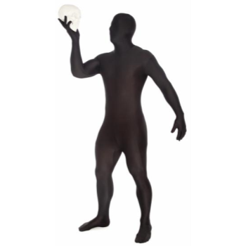 Picture of BLACK MORPHSUIT ADULT - LARGE
