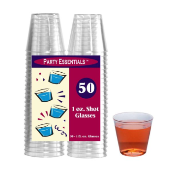 Picture of COCKTAIL - CLEAR - 1oz SHOT GLASSES