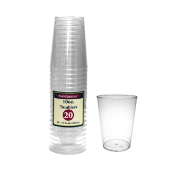 Picture of CLEAR - 10oz RIGID TUMBLER GLASSES