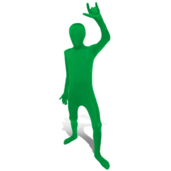 Picture of GREEN MORPHSUIT KID - LARGE