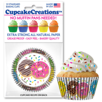 Picture of BAKING CUPS - STANDARD - DONUTS 32/PKG