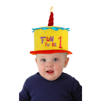 Image de WEARABLES - FUN TO BE ONE CAKE HAT