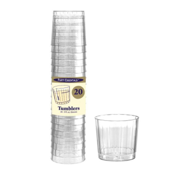 Picture of COCKTAIL - CLEAR - 9oz ELEGANCE RIGID TUMBLER GLASSES
