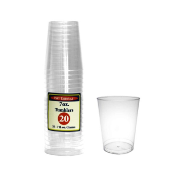 Picture of CLEAR - 7oz RIGID TUMBLER GLASSES